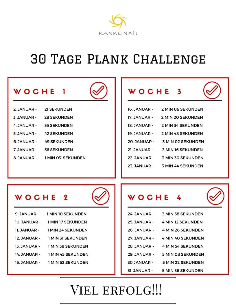 30 tage plank challenge 2116