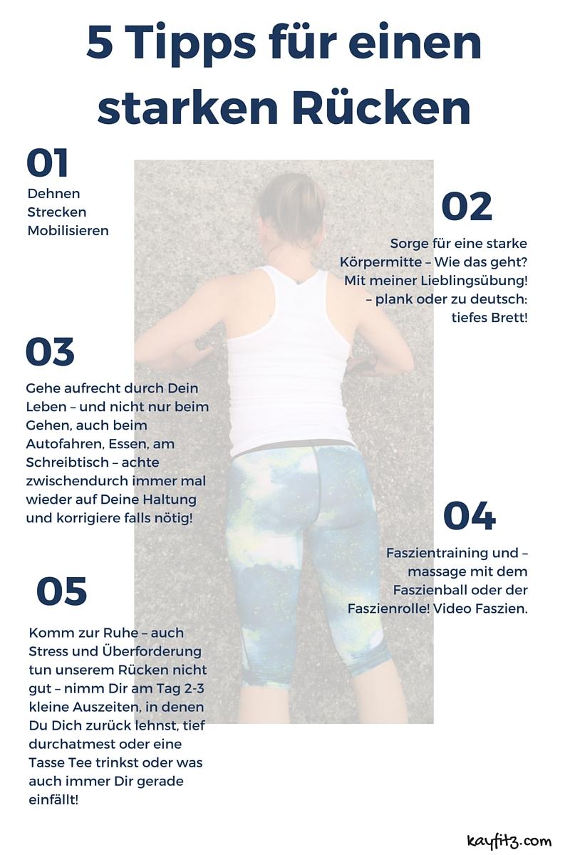 7 Tipps für einen starken Rücken