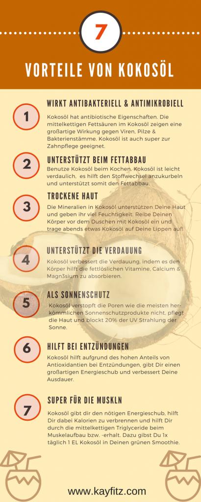 7 Vorteile Kokosöl