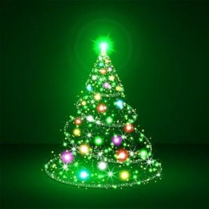 Weihnachtsbaum, abstrakter, Christbaum, Tannenbaum, Tanne, Tree