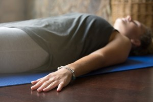 Yoga at home: Corpse Pose